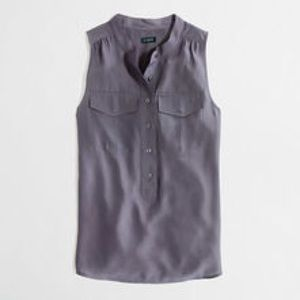 Jcrew sleeveless popover sz 2